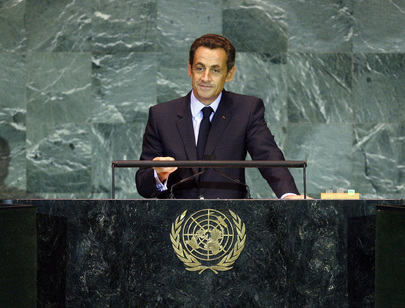 President of France Addresses General Assembly