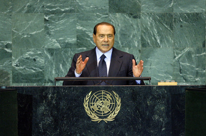 Prime Minister of Italy Addresses General Assembly