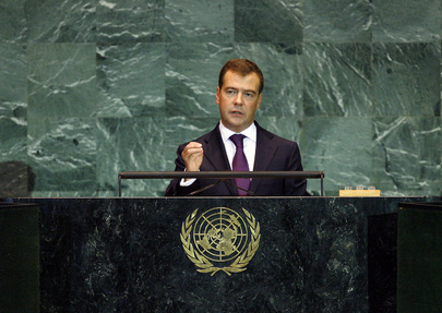 President of Russia Addresses General Assembly