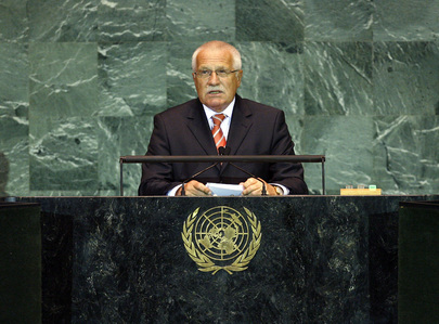 President of Czech Republic Addresses General Assembly