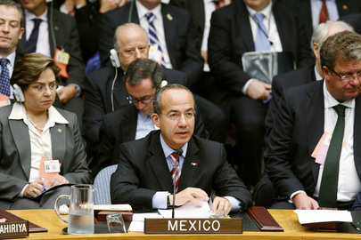 President of Mexico Addresses Security Council Summit