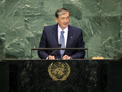 President of Slovenia Addresses General Assembly