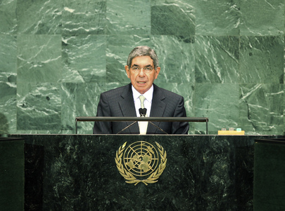 President of Costa Rica Addresses General Assembly