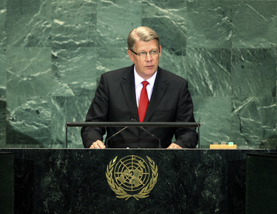 President of Latvia Addresses General Assembly