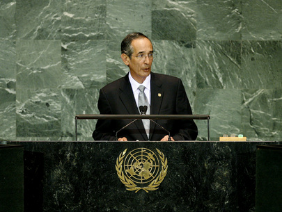 President of Guatemala Addresses General Assembly