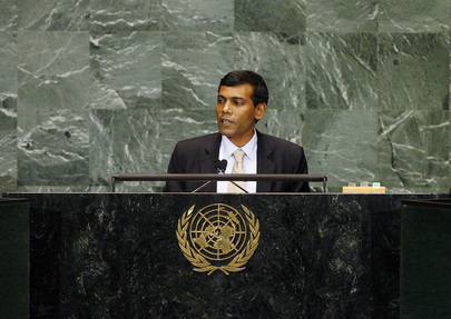 President of Maldives Addresses General Assembly