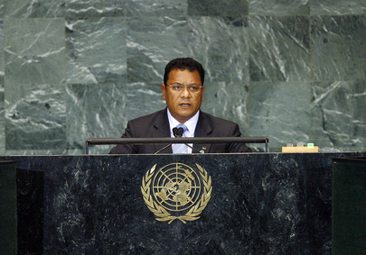 President of Nauru Addresses General Assembly