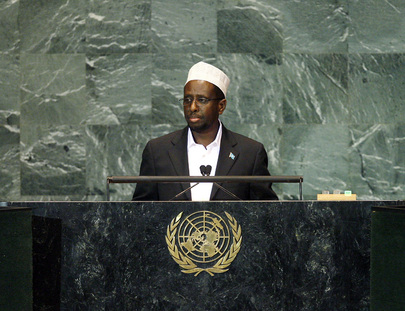 President of Somalia Addresses General Assembly