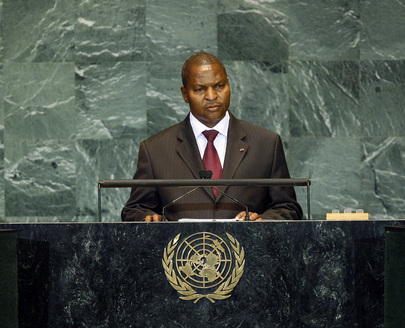 Prime Minister of Central African Republic Addresses General Assembly
