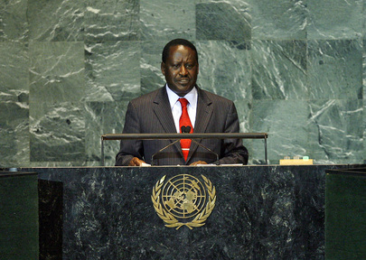 Prime Minister of Kenya Addresses General Assembly