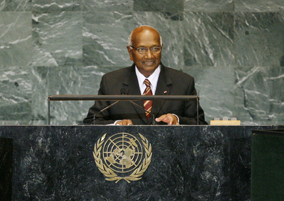 Vice-President of Suriname Addresses General Assembly