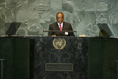 Foreign Minister of Gabon Addresses General Assembly
