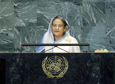 Prime Minister of Bangladesh Addresses General Assembly