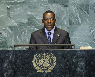 Second Vice President of Burundi Addresses General Assembly