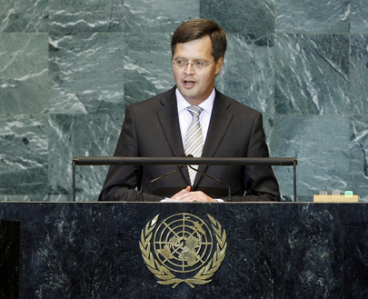 Prime Minister of the Netherlands Addresses General Assembly