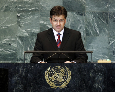 Minister for Foreign Affairs of Slovakia Addresses General Assembly