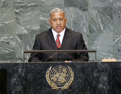 Prime Minister of Fiji Addresses General Assembly