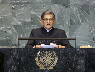 External Affairs Minister of India Addresses General Assembly