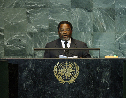 Foreign Minister of Namibia Addresses General Assembly