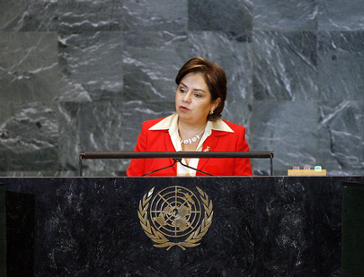 Secretary of Foreign Affairs of Mexico Addresses General Assembly