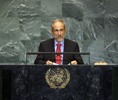 Adviser to President of Sudan Addresses General Assembly