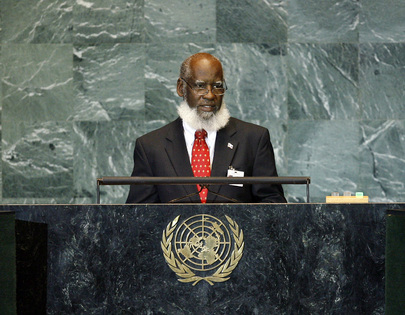Foreign Minister of Belize Addresses General Assembly