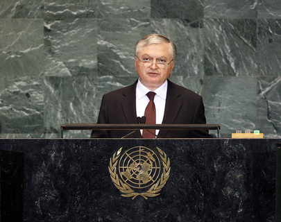 Foreign Minister of Armenia Addresses General Assembly