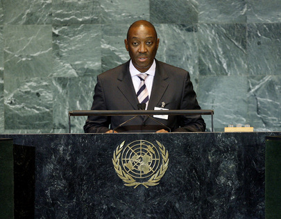 Foreign Minister of Mozambique Addresses General Assembly
