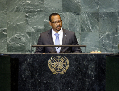 Foreign Minister of Saint Lucia Addresses General Assembly