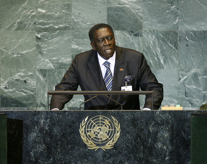 Foreign Minister of Angola Addresses General Assembly