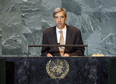 Secretary of State for Foreign Affairs of Portugal Addresses General Assembly