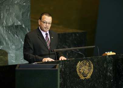 Chairman of Delegation of Seychelles Addresses General Assembly