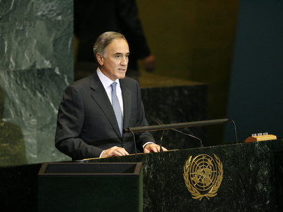 Chairman of Delegation of Greece Addresses General Assembly