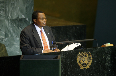 Chairman of Delegation of Botswana Addresses General Assembly