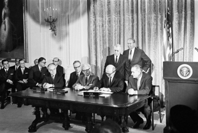 Signing of Treaty on Outer Space
