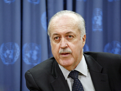 Chair of Security Council Committee on WMD Briefs Media