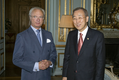 Secretary-General Meets King of Sweden