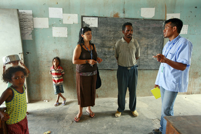 UNMIT Helps Prepare for Timor-Leste's Second National Village Elections