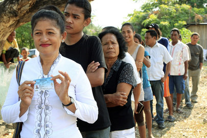 Timor-Leste Holds Second National Village Elections Under UNMIT Supervision
