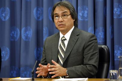 James Anaya defende a valorização da cultura indígena