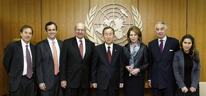 Secreatry-General Meets Global Zero Members