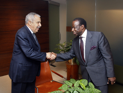 General Assembly President Meets Former Assembly President