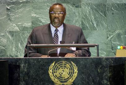 His Excellency, The Honourable Albert Shabangu, Deputy Prime Minister, Swaziland