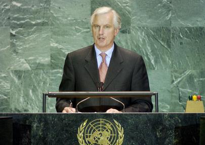 His Excellency, Mr. Michel Barnier, Minister for Foreign Affairs