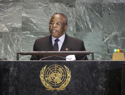 His Excellency Mr. Festus Mogae, President of the Republic of Botswana