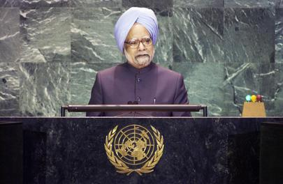 His Excellency Mr. Manmohan Singh, Prime Minister of the Republic of India