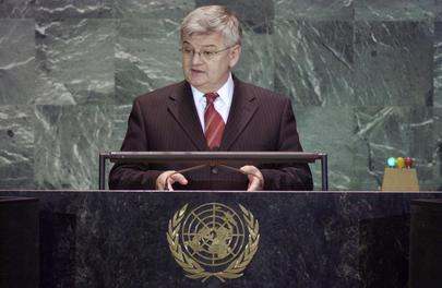 His Excellency, Mr. Joschka Fischer, Deputy Federal Chancellor and Minister for Foreign Affairs