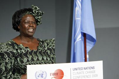 Mensageira da Paz da ONU, queniana Wangari Maathai morre aos 71 anos. Foto: ONU/Mark Garten