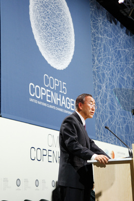 Secretary-General Opens High-level UN Conference on Climate Change