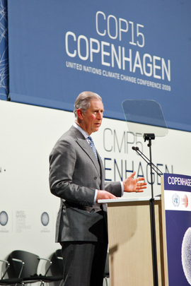 Prince of Wales Addresses UN Conference on Climate Change